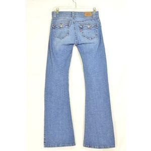 Levi's Jeans - Levi 542 jeans 4 x 31 low slouch flap back pockets